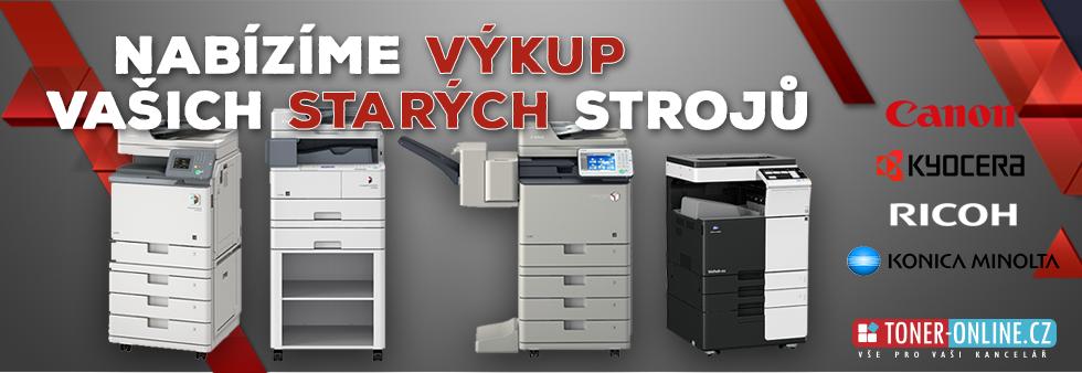 Výkup použitých kopírovacích strojů